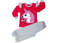 Пижама для девочки Magic pink, интерлок-начес, Colibric (26)