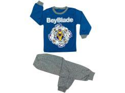 Пижама для мальчика BeyBlade blue, интерлок, Colibric (32)