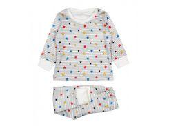 Пижама молочная Colorful stars (86), MISHKA