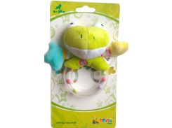 Погремушка лягушка, 12см, Devik play joy