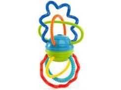 Погремушка-прорезыватель Цветные спиральки, Bright Starts