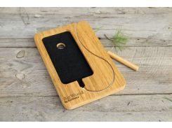Подставка для смартфона Number, EcoWalnut