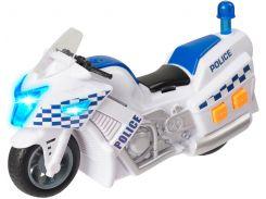Полицейский мотоцикл Teamsterz со светом и звуком 15 см (1416563)