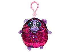 Прекрасная обезьяна, игрушка с пайетками (9 см, на клипсе), Shimmeez