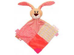 Притулянка Кролик, розовый, Baby Mix