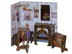 Прихожая, коллекционный набор сборной мебели из картона, Умная бумага