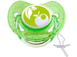 Пустышка Nature силиконовая анатомическая, зеленая, от 18 мес, Canpol babies