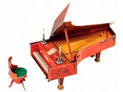 Рояль на шесть с половиной октав, Сборная модель из картона, Умная бумага