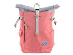 Рюкзак городской Roll-top Peach (20 л), Smart
