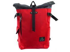 Рюкзак городской Roll-top Red (20 л), Smart