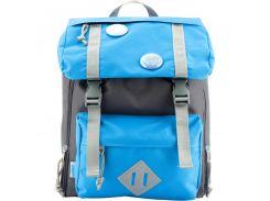 Рюкзак дошкольный 543 голубой с серым (7л), Kite