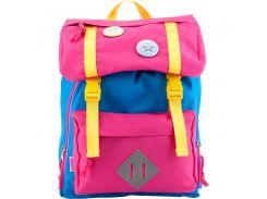 Рюкзак дошкольный 543 синий с розовым (7л), Kite