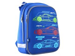 Рюкзак школьный каркасный H-12 Maximum Speed (16,5л), Yes