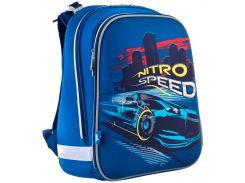 Рюкзак школьный каркасный H-12 Nitro Speed (16,5л), Yes
