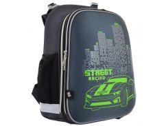 Рюкзак школьный каркасный H-12 Street Racing (16,5л), Yes