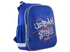 Рюкзак школьный каркасный H-12 Urban Style (16,5л), Yes