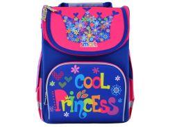 Рюкзак школьный, каркасный Cool Princess (12 л), Smart