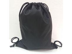 Рюкзак-мешок на затяжках King's Style детский Оксфорд черный (201)