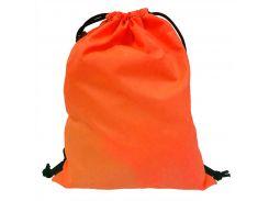 Рюкзак-мешок на затяжках King's Style Оксфорд неон-оранж (102)