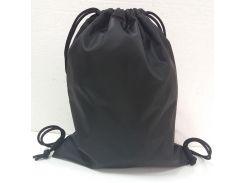 Рюкзак-мешок на затяжках King's Style Оксфорд черный (101)