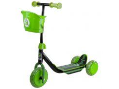 Самокат Mini Kid 3W Kick Scooter (зеленый), Stiga