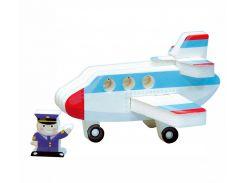 Самолет, Мягкий 3D конструктор-пиктограмма, Умная бумага