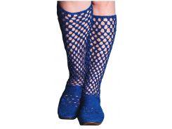 Сапожки женские ажурные голубые 37 размер, S Dragan