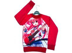 Свитшот для девочек Anime, Colibric (34)