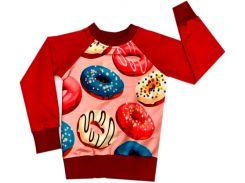 Свитшот для девочек Donuts, Colibric (28)