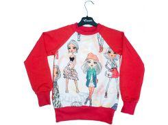 Свитшот для девочек Fashion, Colibric (36)
