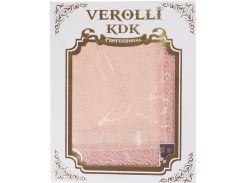 Скатерть 160 на 220, цвет персиковый, Verolli