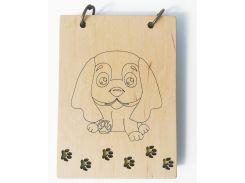 Скетчбук Lucky Dog, A6, Древыч