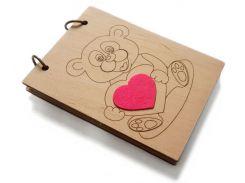 Скетчбук Teddy Bear, A6, Древыч