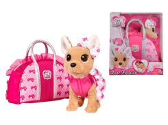 Собачка Чихуахуа, розовая мода с сумочкой, Chi Chi Love