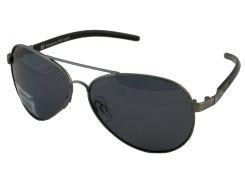 Солнцезащитные очки HIS Polarized Авиатор детские серый цвет (HP00100-1)