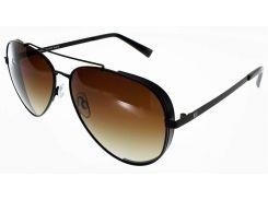 Солнцезащитные очки HIS Polarized Авиатор черный цвет (HPS84111-1)