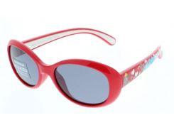 Солнцезащитные очки HIS Polarized детские красный цвет (HP50100-4)