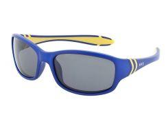 Солнцезащитные очки HIS Polarized детские спортивные темно-синий цвет (HP50102-2)