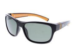 Солнцезащитные очки HIS Polarized детские спортивные черный цвет (HPS90108-1)
