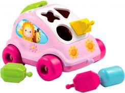 Сортер-машинка Cotoons (розовая), Smoby Toys