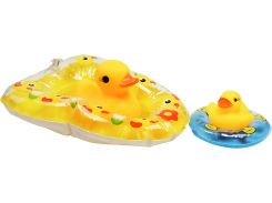 Спасательный челнок, резиновая игрушка (желтый), Курносики