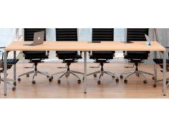 Стол для переговоров Loft Design Q270 Дуб Борас (0047-2)