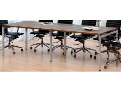 Стол для переговоров Loft Design Q270 Орех Модена (0047-4)