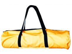 Сумка-чехол для йоги коврика Sun B, желтый с черными ручками, Foyo