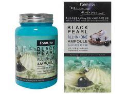 Сыворотка Farm stay все в одном ампульная с экстрактом черного жемчуга 250 мл (NF-00001557)