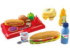 Сэндвич в кейсе, набор продуктов, Ecoiffier