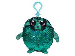 Талантливый ленивец, игрушка с пайетками (9 см, на клипсе), Shimmeez