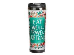 Термокружка ZIZ Eat and travel, 380 мл (21049)