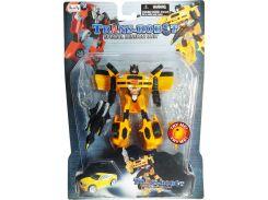 Транс-робот со светящимся мечом (желтый), BoldWay