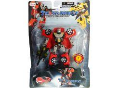 Транс-робот со светящимся мечом (красный), BoldWay